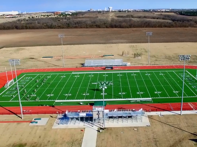 Football, Track and Soccer Stadium 0