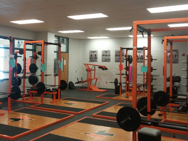 Lady Jackets Weight Room 1