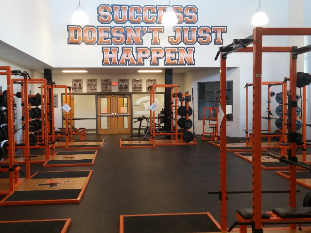 Fieldhouse weight room 1