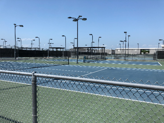 High School Tennis Courts 1