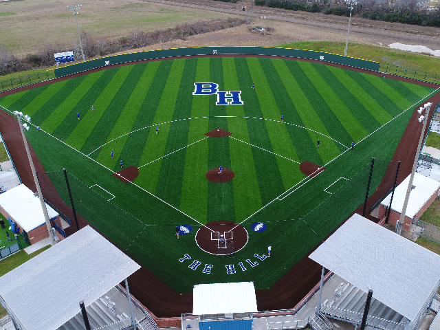 Barbers Hill Baseball Field 0