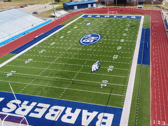 Barbers Hill Eagle Stadium 0
