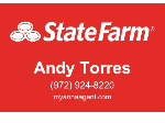 State Farm Andy Torres  logo