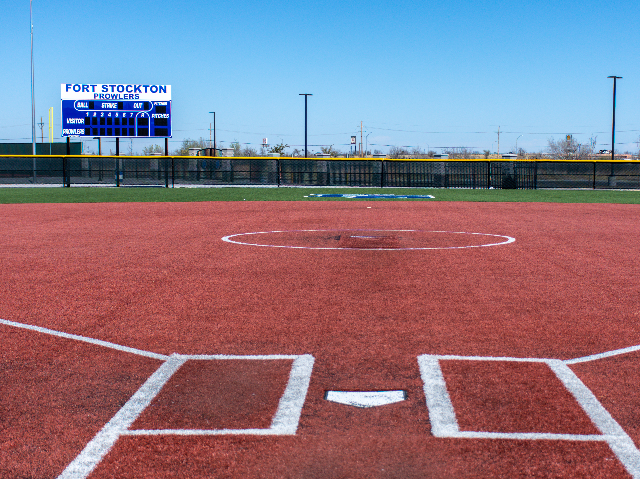 Softball Field View 2