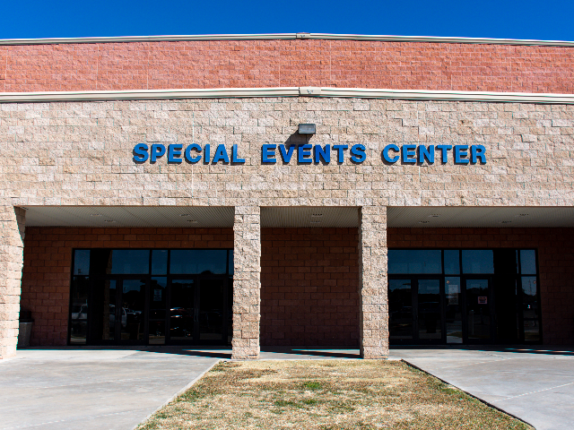 Special Events Center Entrance 2