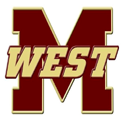 Magnolia West Mustangs logo