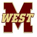 Magnolia West Mustangs logo 94
