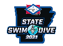 6A State Boys Swimming Championships logo