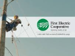 First Electric Cooperative logo