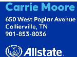Carrie Moore - Allstate logo