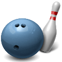 6A West conference Bowling logo