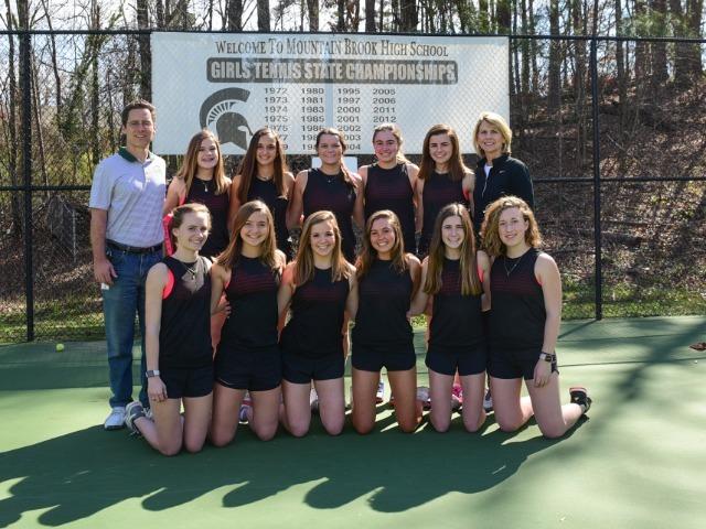 2019 Varsity Girls Tennis
