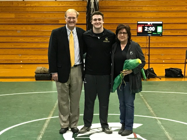 Jack Higgins and Family - Senior Night 2020