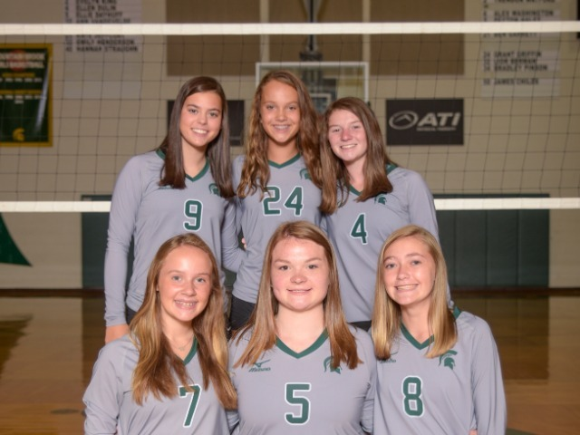 Girls Freshman Volleyball gallery