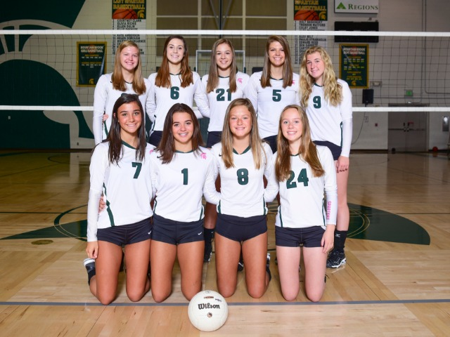 Girls JV Volleyball gallery