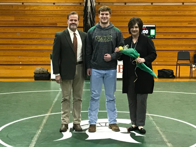 Mason Brent and Family - Senior Night 2020