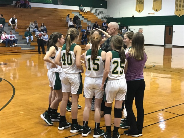 2020 JV Girls Huddle