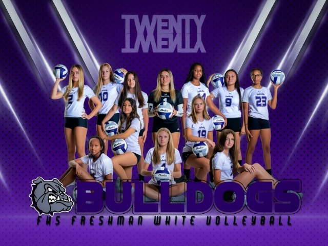 Girls Freshman White Volleyball gallery