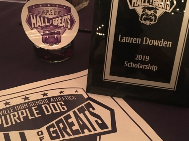 We are so proud of Lauren Dowden.  2019 Hall of Greats Scholarship recipient.