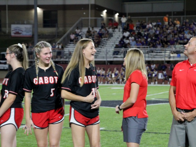 State Championship Ring Presentation - 2019 Cabot vs El Dorado Football Game