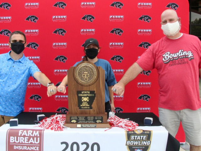 2020 6A State Champions - Ring Distribution