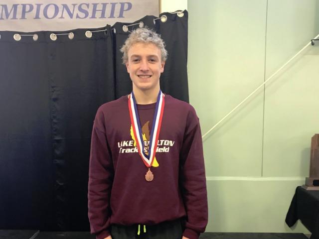 Noah Smith medaling!