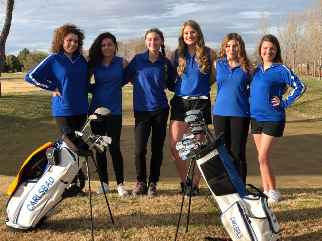 Girls Varsity Golf Gallery Images