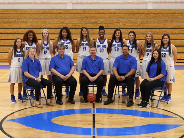 2017-2018 Girls Varsity Basketball Team