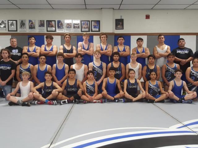 2017-2018 Wrestling Team