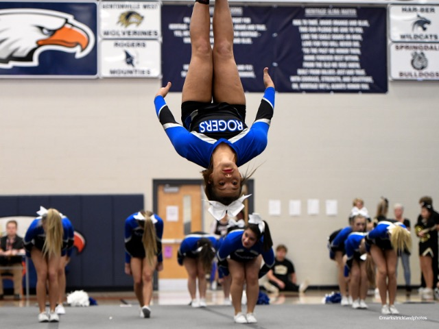 Girls Varsity Competitive Cheer Gallery Images