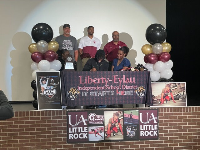 Tavieon Neal Signs with UALR to run track