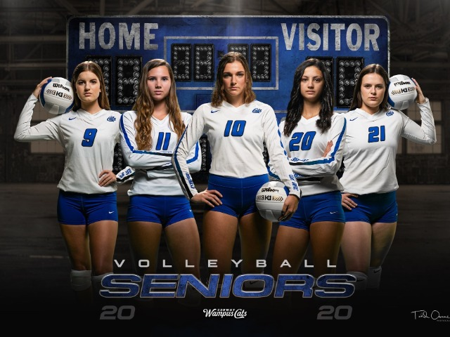 2019 Senior Volleyball Players