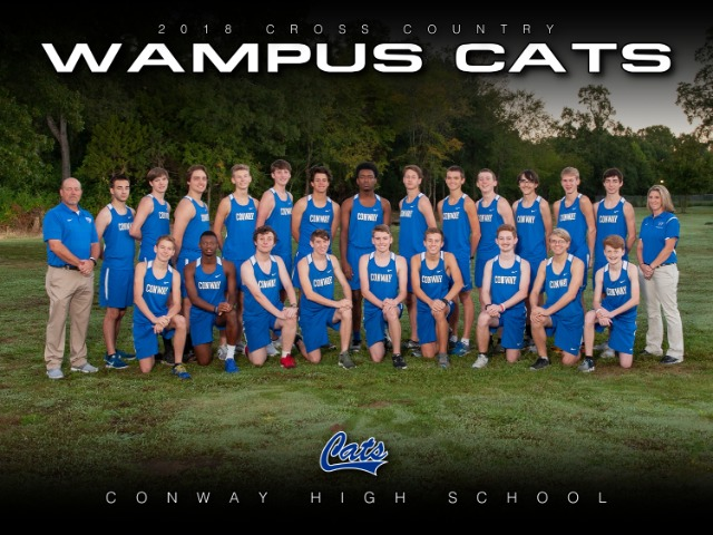 2018 Varsity Boys Cross Country Team