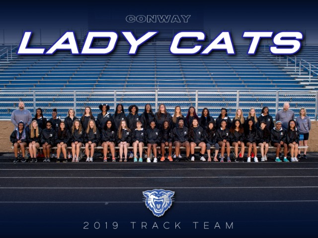 2019 Lady Cat Track Team