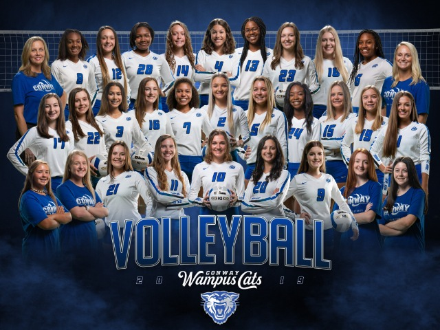 2019-20 Lady Cat Volleyball Team
