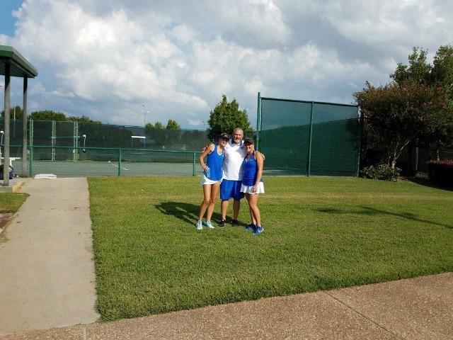 Coach Gifford with Taylor Lemieux & Ashleigh Darnell