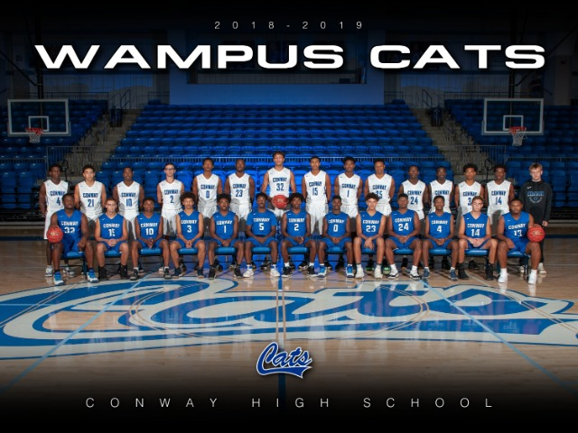 2018-19 Wampus Cat Basketball Team