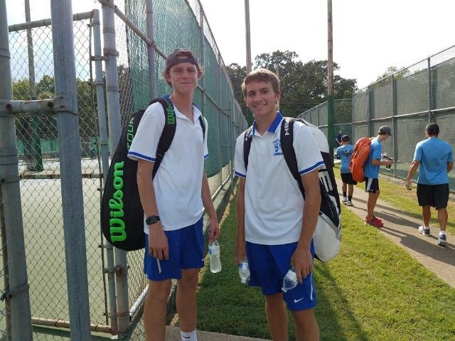 doubles partners Parker Padgett & Thomas McNabb