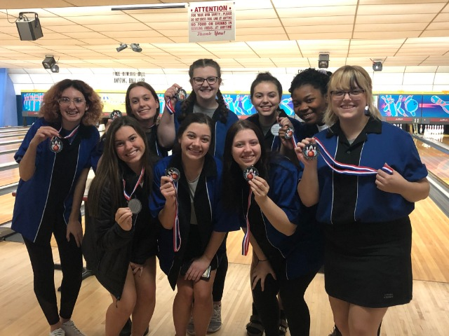 Lady Cat Bowling Team