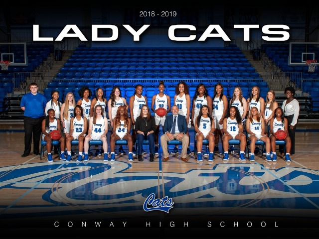 2018-19 Lady Cat Basketball Team