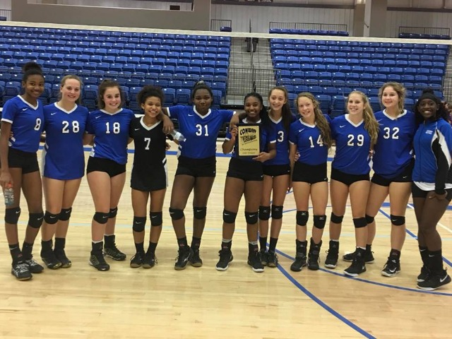 Conway Blue wins Conway Junior High Invitational Tournament