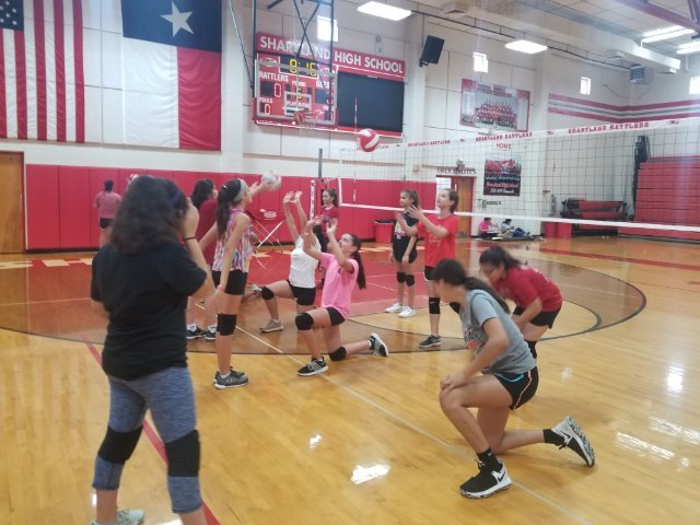 Sharyland Volleyball Camp