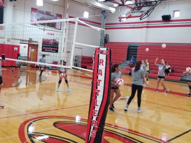 Volleyball Fall Camp