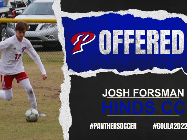 Congratulations to Josh Forsman on his scholarship offer from Hinds Co. Community College