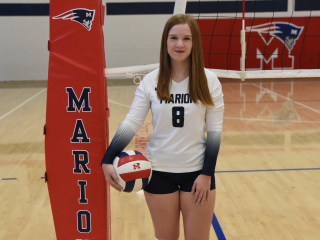 2021 Marion volleyball media day