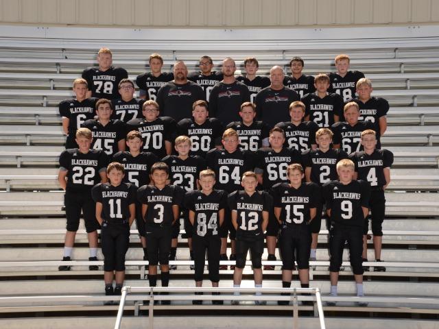 2019-2020 7th Grade Football