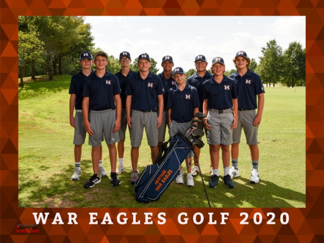 2020 BOYS GOLF TEAM