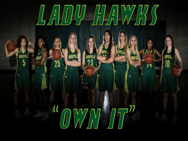 Lady Hawk Basketball 2017-2018