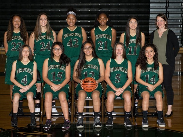 Girls Freshman Basketball Gallery Images