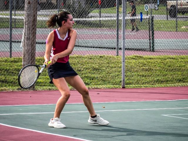 Varsity Girls Tennis vs. LRCA  9.17.20 (Photos by Kayleigh Smith)